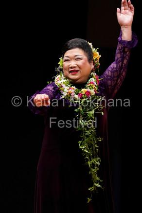 Kupuna Mokihana Hula ʻAuana - Ryo Hula Studio 高橋 慶子さん