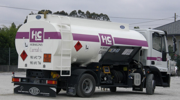 Camión gasóleo