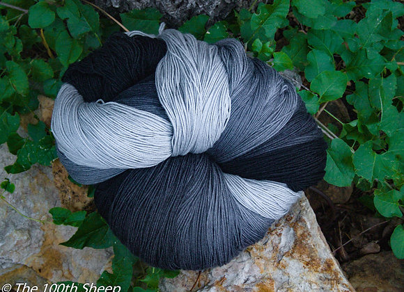 Storm Clouds Superwash Merino/Tussah Silk
