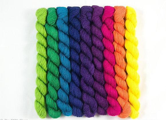 The Rainbow's Promise  Superwash Merino/Tussah Silk