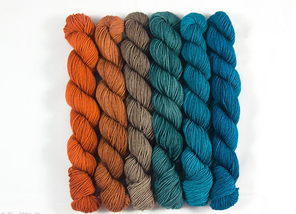 Garden of the Gods  Superwash Merino/Tussah Silk