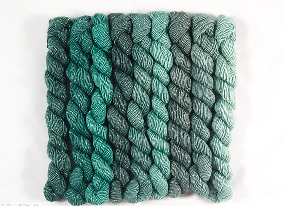 Lady Galadriel  Superwash Merino/Lurex