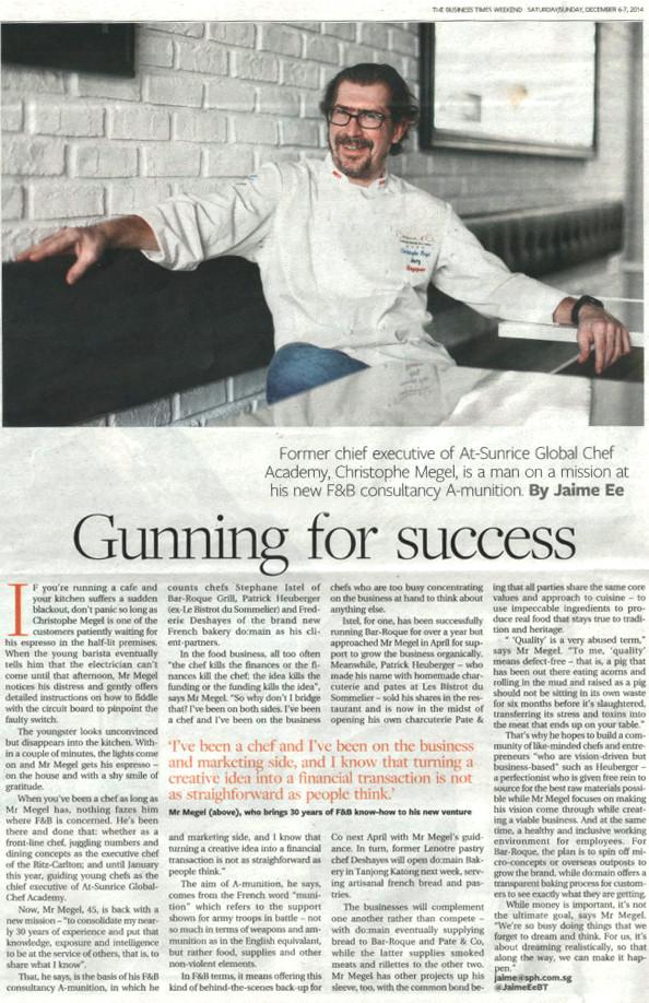 Gunning for Success