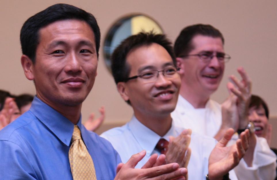 Minister Ong & Christophe