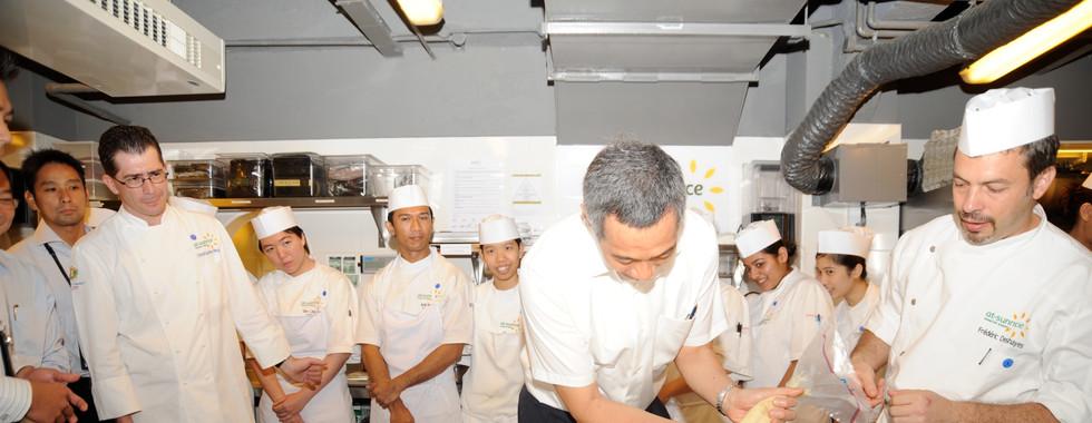 PM Lee Doing Demo