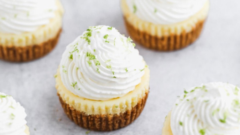 Mini key lime tarts
