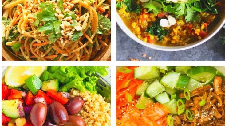Customizable Vegan Meal Plan