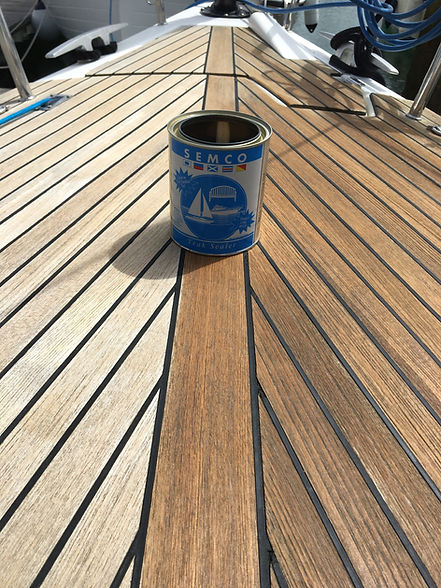 TFWV Marine Teak Cleaning and Sealing