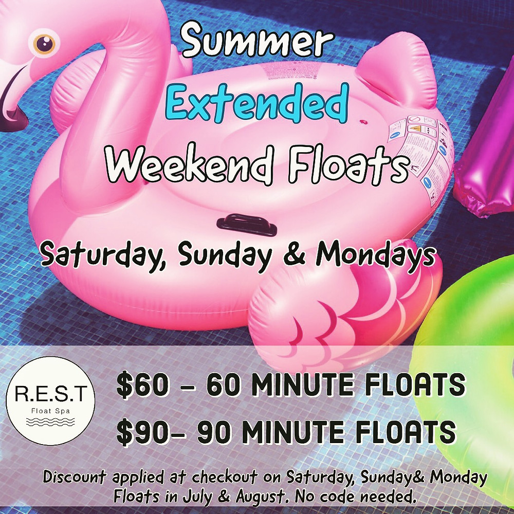 Summer Float Special