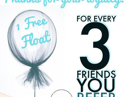 Earn Free Floats!