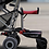 Thumbnail: Stroller Buggy Board - Lascal black/red