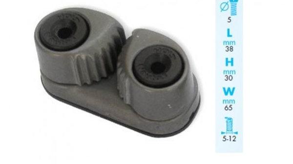 Mordaza aluminio Nautos 12 mm.
