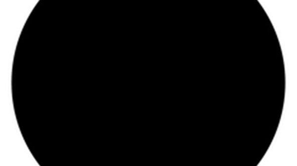 Poliéster insignia adhesivo negro, 137 cms. de ancho.