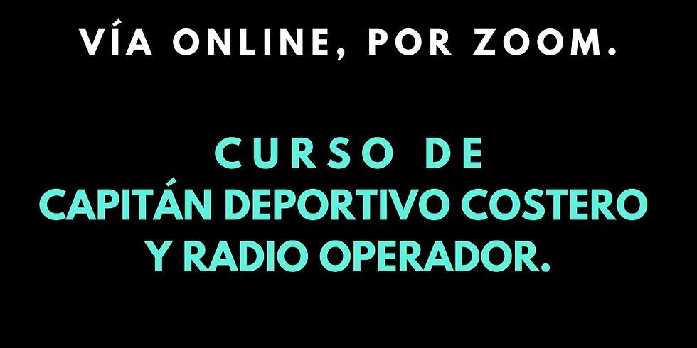 Capitán Deportivo Costero y Radio Operador.