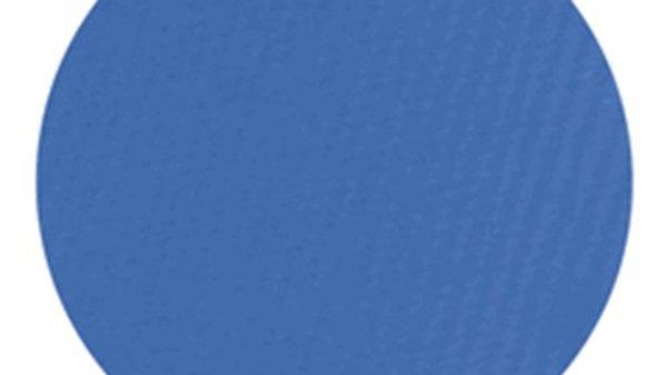 Poliéster insignia adhesivo azul, 1.37 cms. ancho.