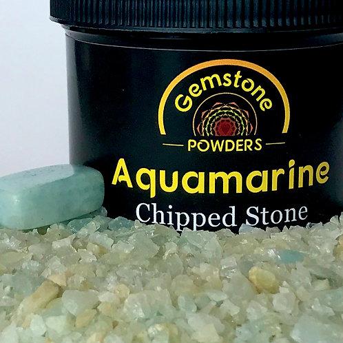 Aquamarine - Chipped Stone