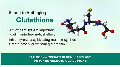 Kirei Glutathione by MDP World, an antioxidant system importan to eliminate free radical effect