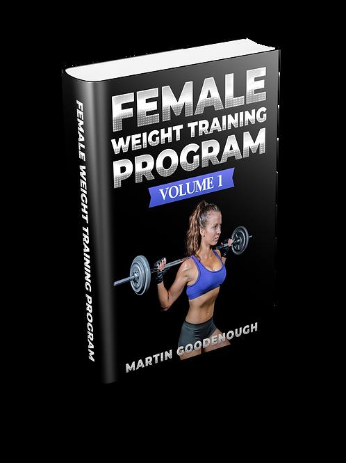 Female Weight Training Volume 1