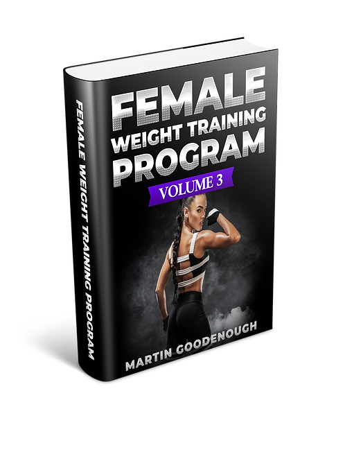 Female Weight Training Volume 3