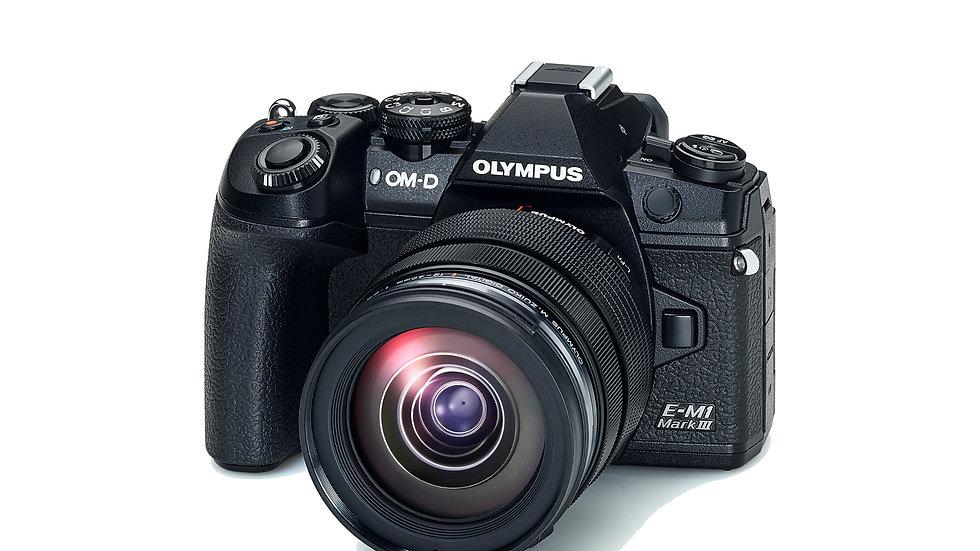 OLYMPUS OM-D E-M1 MARK III + 12-40MM F/2.8 M.ZUIKO DIGITAL PRO