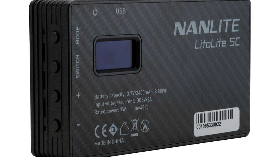 Nanlite LitoLite 5C (w/ battery)