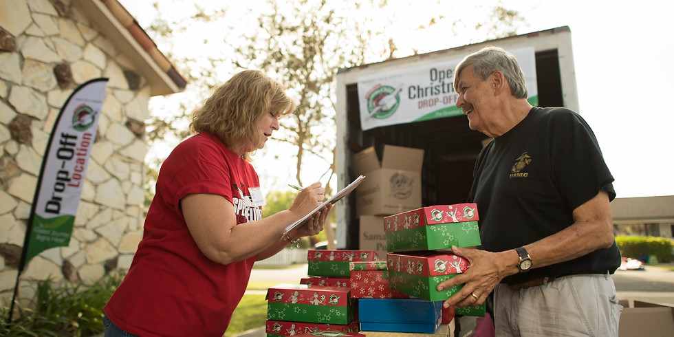 Operation Christmas Child - Drop Off