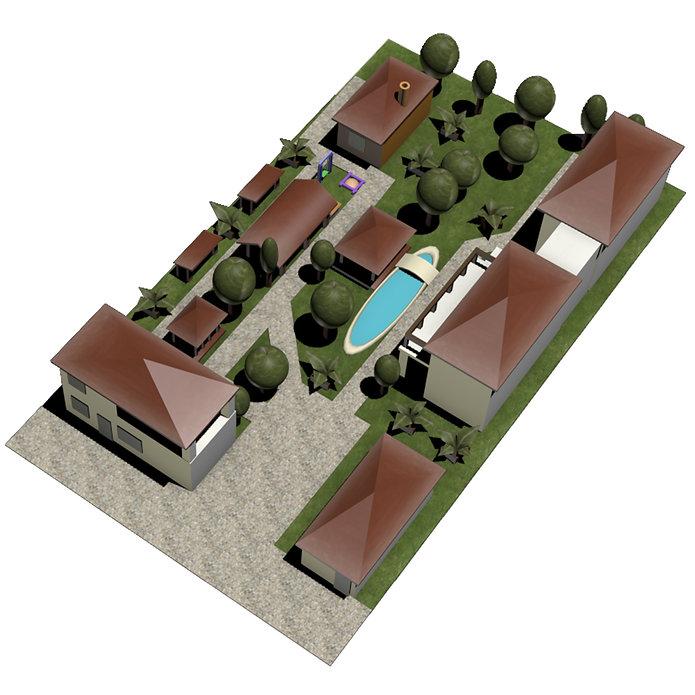 SeaVilliya Park Hotel, План территории Отеля