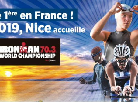Nice sera la ville hôte du Championnat du Monde Ironman 70.3 en 2019