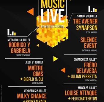 ::: ANNULE ::: The Aveners en concert chez lui, à Nice, ainsi que Maitre Gims, Frero Delavega, Louis