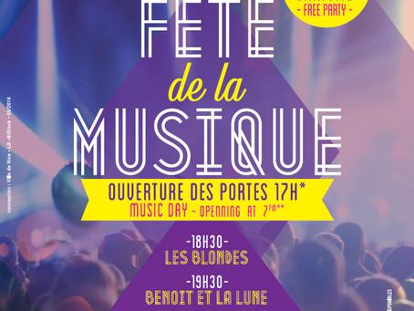Fête de la musique 2016 à  Nice