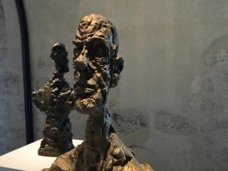 Retour en images sur... L'expo Giacometti à la Galerie Lympia au port de Nice.