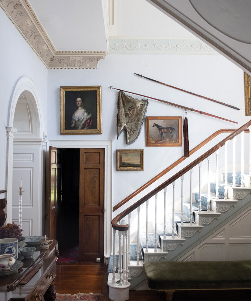 Glin Castle… hallway