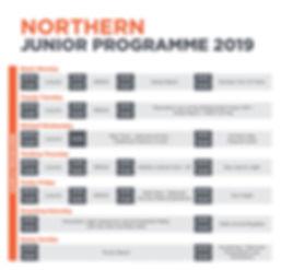 Northern Junior Programme 2019