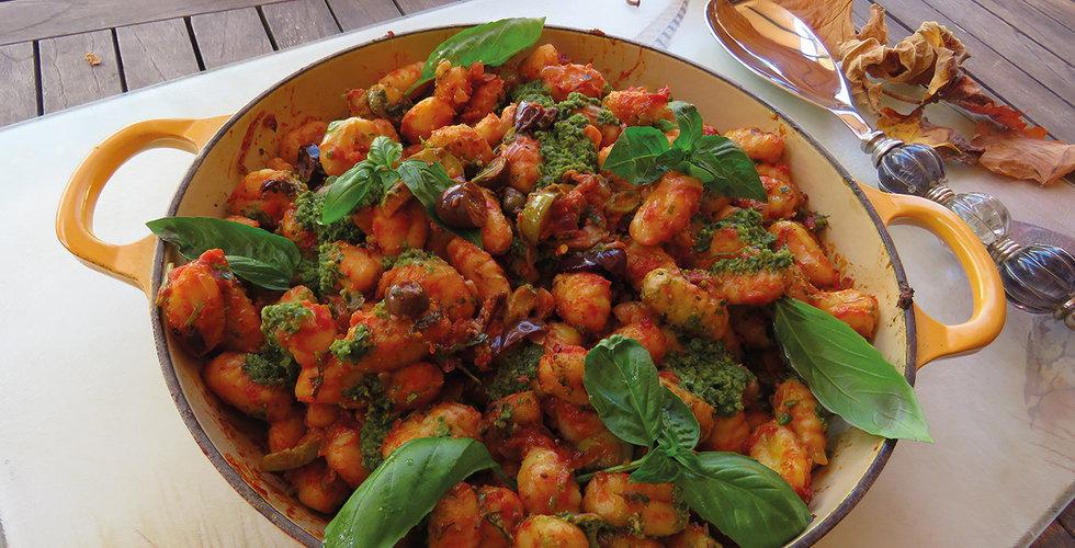 Gnocchi Puttanesca
