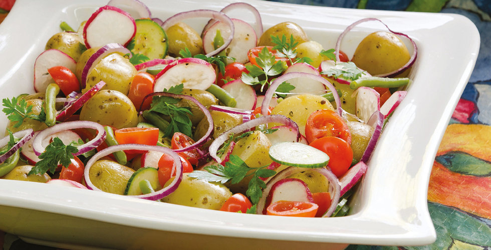 Potato salad with a difference