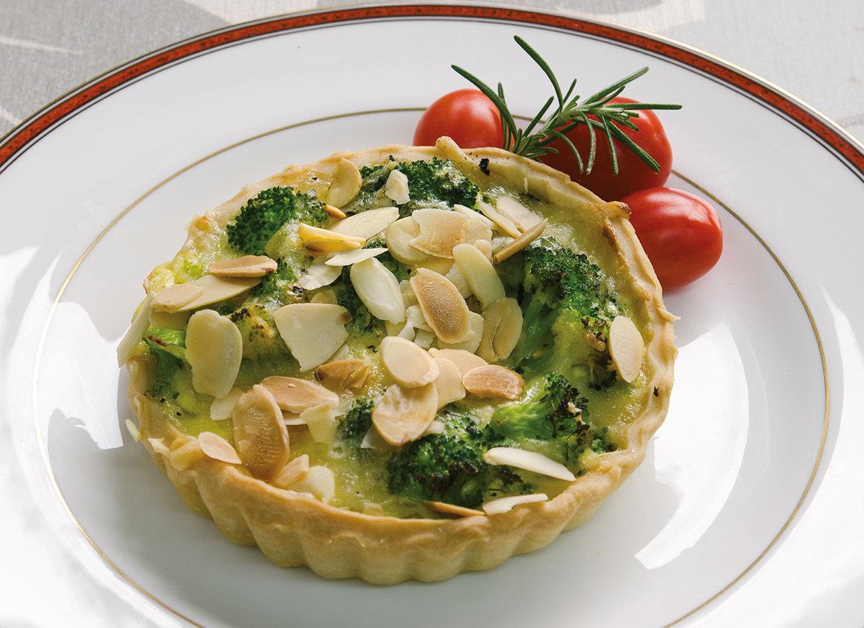 Broccoli tartlets