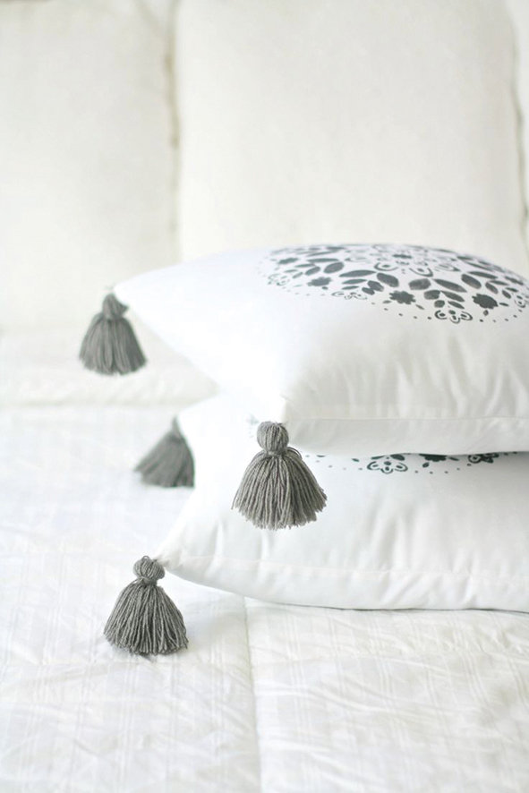 Throw cushions are a simple and effective way of embellishing your interiors.