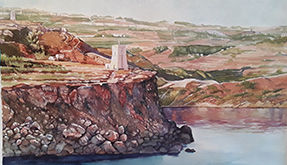 Bolder watercolours – Maris Zammit
