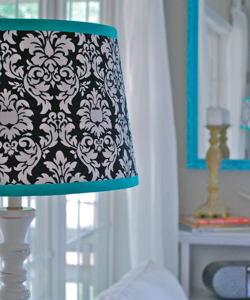 Install shades, blinds or draperies in light colours to deflect heat.