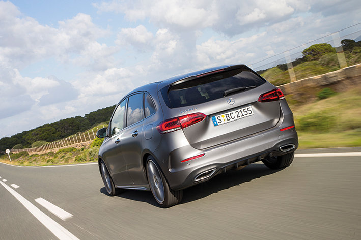The All-New MERCEDES-BENZ B-CLASS