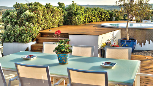 Terrace areas