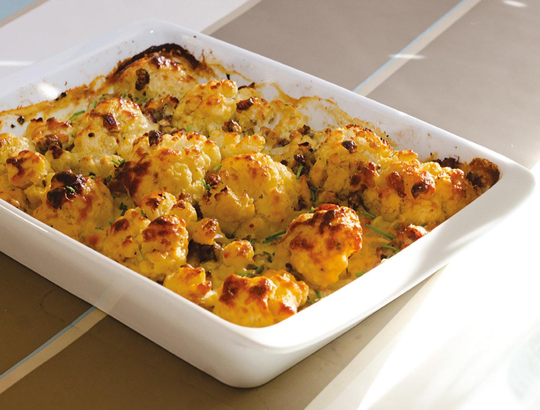 Cauliflower ovenbake