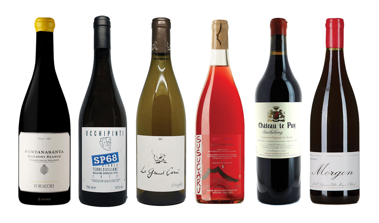 My favourite Natural wines of the moment