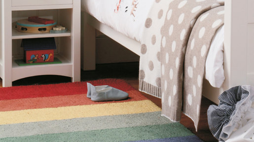 A runner is a great alternative to add texture, colour and warmth without breaking the bank.