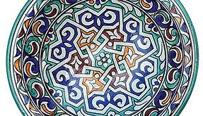 Decorative hand-painted ceramics