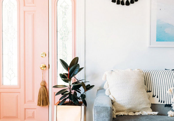 Door Knob Tassels give a fun and casual feel to your space.