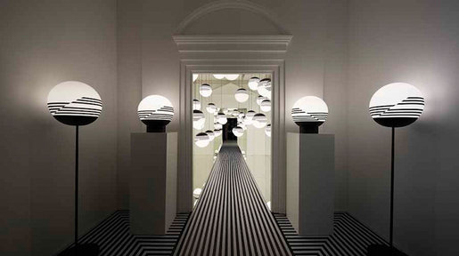 Designer Lee Broom Exhibition Space - The Playfulness in Lighting.