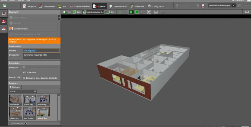Vita 3D Diseño de iluminación