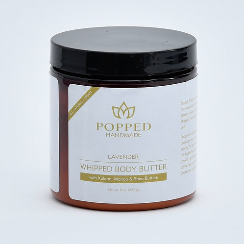Two 8 oz Whipped Body Butters