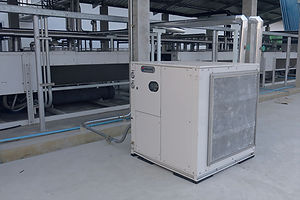 heat pump รุ่นออกแบบสำหรับการใช้งานในโรงงาน
